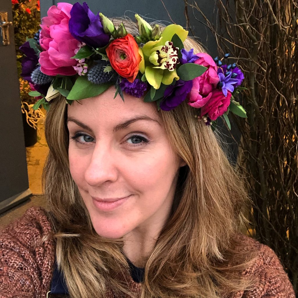Leafy Couture Flower Crowns 1