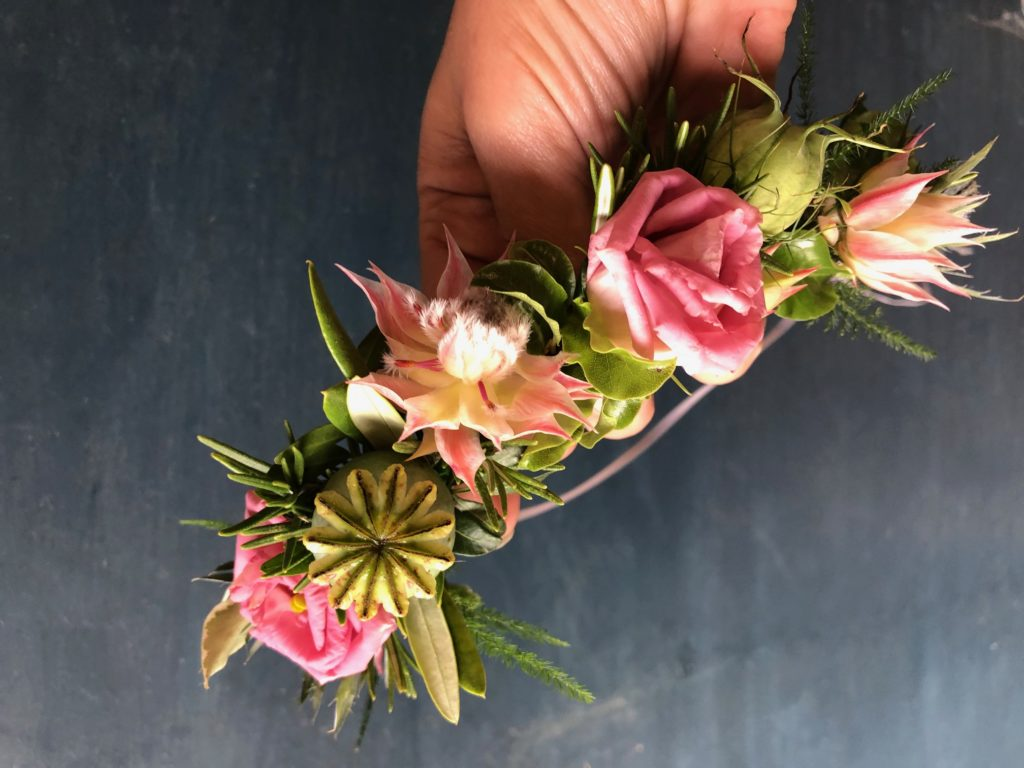 Leafy Couture Flower Crowns 2