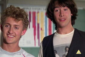 The Luna Drive-In Cinema – Bill and Ted's Excellent Adventure