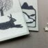 Christmas Card Printmaking with Folded Forest