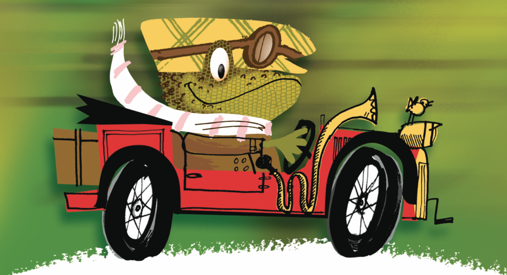 Wind in the Willows Outdoor Theare at Harewood, Leeds