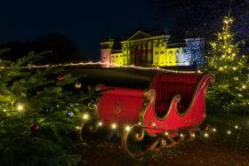 An outdoor Christmas at Harewood