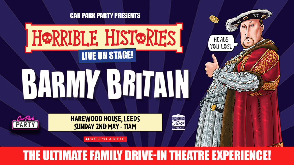 Car Park Party, Horrible Histories at Harewood House, Leeds