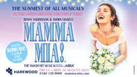 MAMMA MIA! open air theatre at Harewood House, Leeds