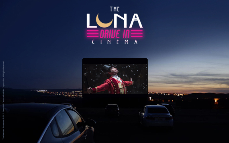 The Luna Drive-in Cinema at Harewood House, Leeds