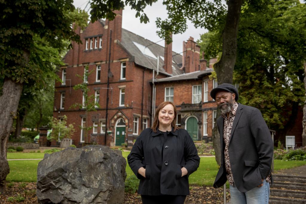 Joe Williams and Vanessa Mudd - Heritage Corner