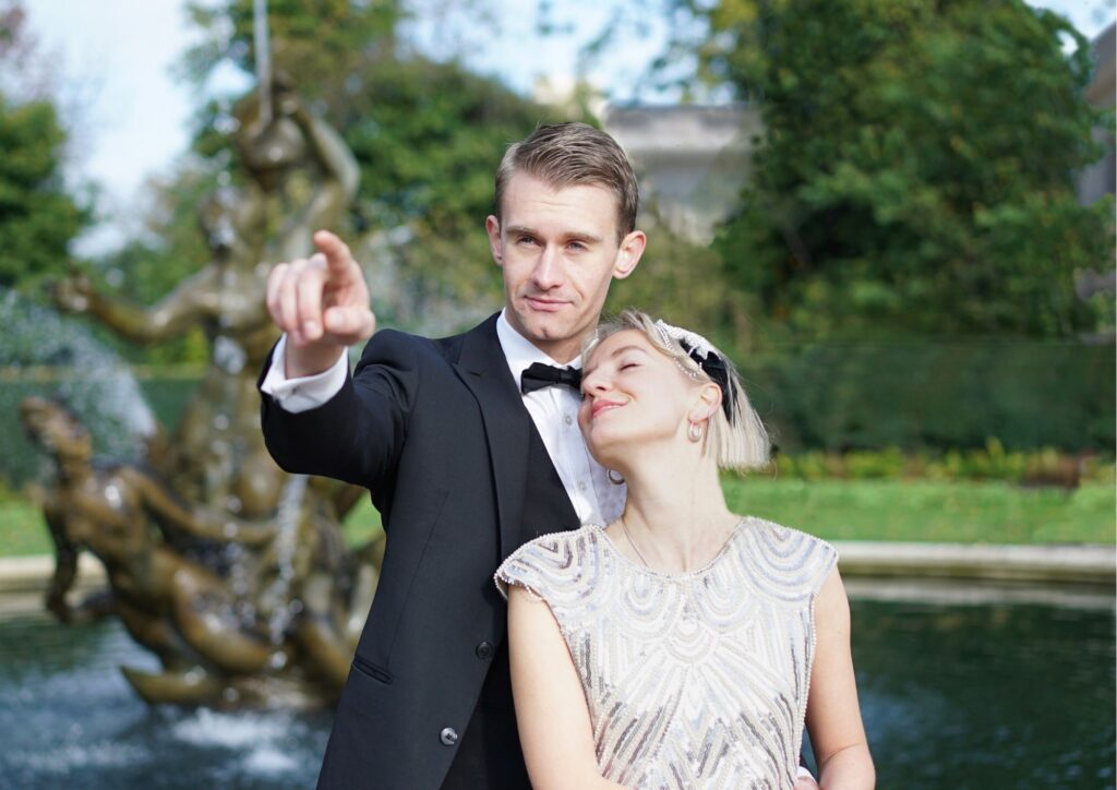 The Great Gatsby Outdoor Theatre, Heartbreak Productions at Harewood, Leeds
