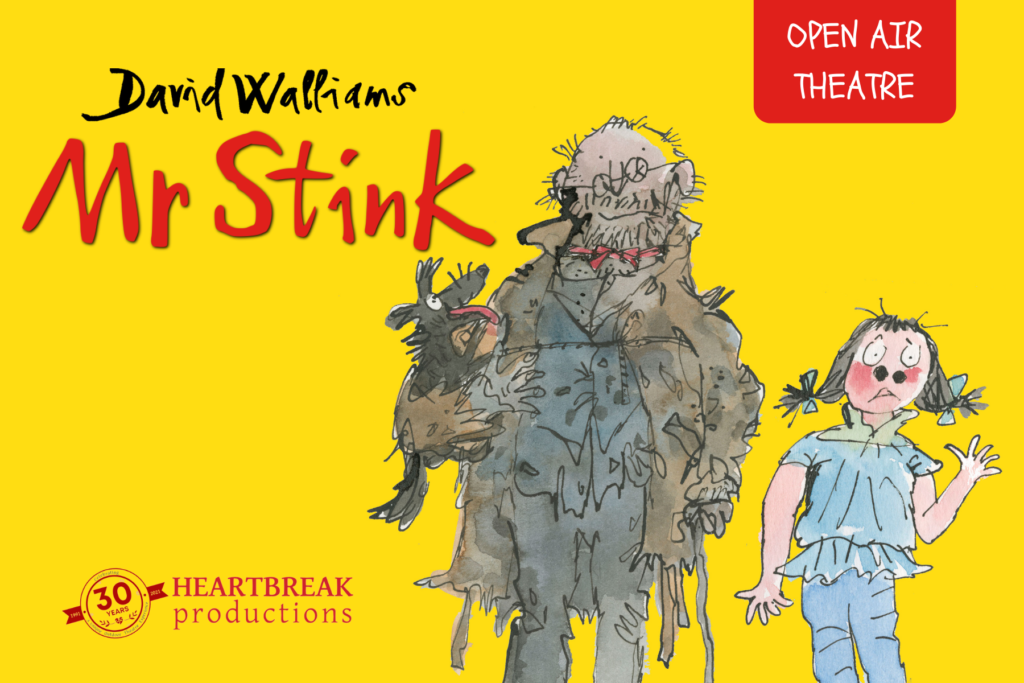 Mr Stink Outdoor Theatre at Harewood House, Leeds